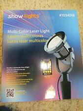 Show Lights Multicolor Seasonal Laser Light w/remote
