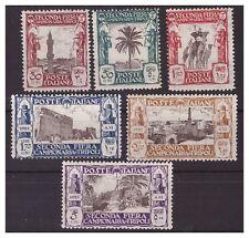 LIBIA 1928  II°   FIERA DI TRIPOLI - SERIA NUOVA  *