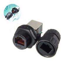 Ip68 Waterproof Lan Ethernet Connector Jack Socket Networking Ap Plug Useful