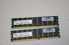 HP 256 MB DDR 266 mhz MT18VDDT3272AG-265 260654-001 AZBP4W004