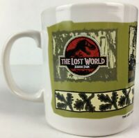 The Lost World : Jurassic Park 1997 Triceratops Tetley Promo Ceramic Mug - New