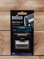 Genuine BRAUN 31S 5000 6000 Series 3 Shaver Replacement Foil Cutter Set Contour