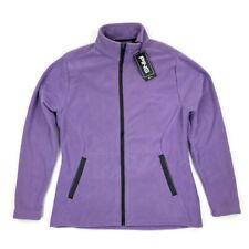 New Ping Women's Full Zip Fitted Golf Jacket Soft Purple Fleece Size Medium $90