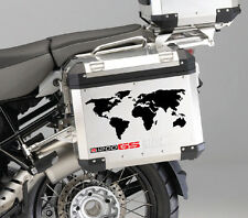 bmw R1200GS Seitenkofferdeckel aufkleber side case sticker set Motorrad r1200 gs