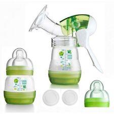 Mam Baby Manual Breast Pump with Self Sterilising Bottle