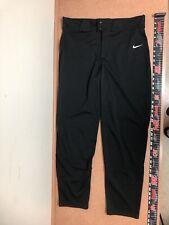New Men's Nike Vapor Select Baseball Pants Bq6345-010 Extra Large Black $40