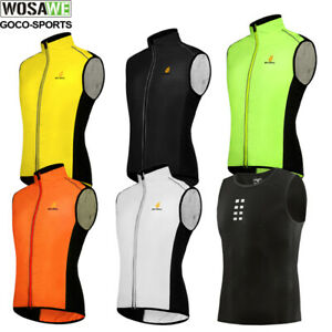 Cycling Vest Quick dry sleeveless Running Hiking Top Bike vest bicycle Gillet