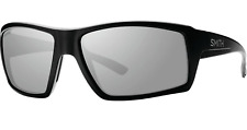 NEW Smith Challis Sunglasses-Matte Black-Chromapop Platinum Polarized Lens!