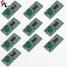 10pcs RCWL-0516 Microwave Radar Sensor Switch Module Body Induction Module 4-28V