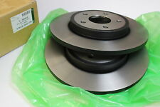 2x Neu Original Jaguar X-Type 280mm Bremsscheiben HINTEN  Rear Disc C2S49730