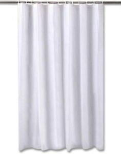 Tenda da doccia vasca bianca eva 12 occhielli 180x200cm 200x240cm impermeabile