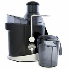 ElectricJuice Extractor Maker Full-Fruit 1.3 Litre 600 watt in Black By Lloytron
