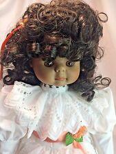 "Goebel 1989 Betty Carter LE Jalisa Musical 17"" Porcelain African American Doll"