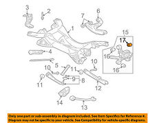 MITSUBISHI OEM 04-06 Endeavor Rear Suspension-Knuckle Rear Bushing 4110A033