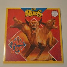 THE RODS -  WILD DOGS - 2015 LP LTD. EDITION COLOR VINYL SEALED