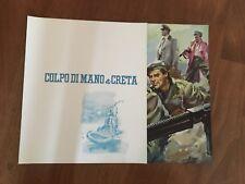 brochure 1957, I'll Met by Moonlight.COLPO DI MANO A CRETA Pressburger,POWELL
