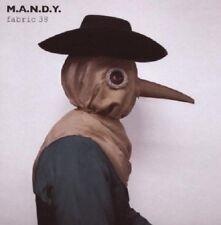 M.A.N.D.Y. - FABRIC 38  CD NEU