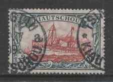 1905 German colonies KIAUTSCHOU  2½ Dollar Yacht issue  used, -TSINGTAU-, $ 702.