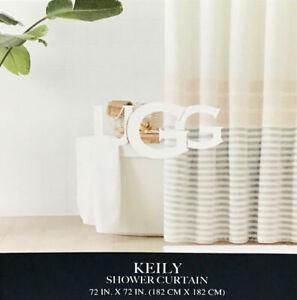 UGG® Keily Plush 72-Inch x72-Inch Shower Curtain in Blush Sunset. New