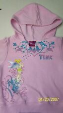 DISNEY Store Tinkerbell Pullover Hoodie Sweat Shirt Sz 24M