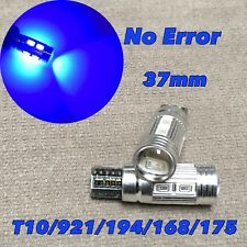 PARKING LIGHT T10 LED BLUE bulb No Canbus Error w5w 168 194 10 SMD for Toyota L