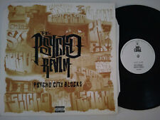 "THE PSYCHO REALM 12"" PSYCHO CITY BLOCKS 1997 RUFFHOUSE 4478573 1ST PRESS B REAL"