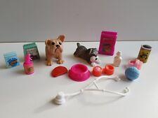 Barbie lot accessoire vétérinaire + animaux  -Lot n° 43