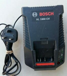 Bosch AL 1860 CV  Charger In Good Clean Working Order.