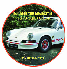 1/8 scale DeAgostini Porsche 911 model kit Build CD