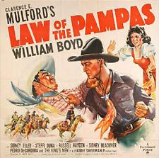 Western: LAW OF THE PAMPAS, 1939, William Boyd 'Hopalong Cassidy':Region 2 DVD-R