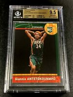 GIANNIS ANTETOKOUNMPO 2013 PANINI NBA CHINA #147 ROOKIE RC BGS 9.5 BUCKS NBA