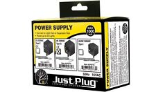 Woodland Scenics JP5772 - 'Just Plug' Power Supply Max 1000 mA - Tracked 48 Post