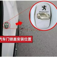 Stainless Steel Door Lock Striker Cover Door Striker Cover for Peugeot (Fits: Peugeot)