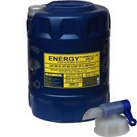20 Liter MANNOL Motoröl ENERGY FORMULA JP 5W-30 Engine Oil Öl inkl. Auslaufhahn