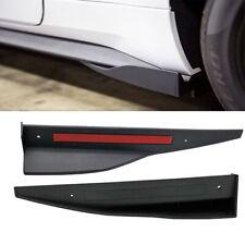 Universal Car Side Skirts Rocker Splitter Winglet Bumper Guard for Ford  Mustang