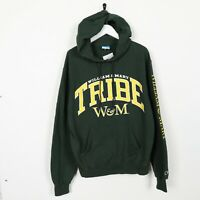 Vintage CHAMPION USA Tribe Big Logo Hoodie Sweatshirt Green | Small S