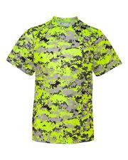 Badger Mens B-Core Camo Digital T-Shirt 4180 XS-4XL Polyester NEW