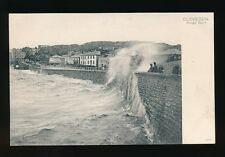 Somerset CLEVEDON Rough Sea 1905 PPC