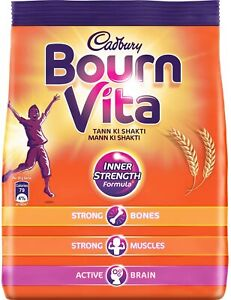Bournvita Health And Nutrition Vitamins Supplements Energy Drink 500 Gm