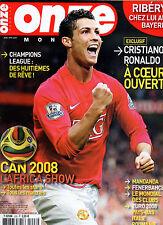 magazine ONZE MONDIAL année 2008