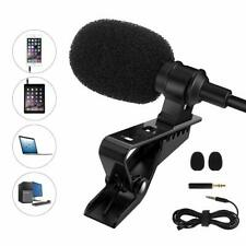 MoKo Professional Mini Lapel Mic Omnidirectional Condenser Lavalier Microphone