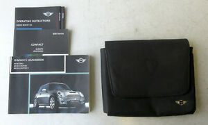 Genuine Used MINI Owners Handbook Case / Wallet / Book Pack for R50 R52 R53 #20