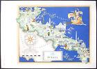 1950 - CARTINA PUGLIA - STAMPA IMAGO ITALIAE - ED. SPECIALE FARMITALIA