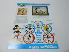 VINTAGE CATALOG #2409 - 1982 WELBY - ELGIN DISNEY CLOCKS - WATCHES