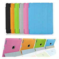 "Premium  Hard Smart Case For Apple iPad 2,3,4 Flip Stand Back Cover 10.1"" Device"