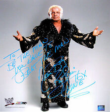 WWE RIC FLAIR HAND SIGNED AUTOGRAPHED 16X20 INSCRIBED PHOTO WITH PROOF AND COA 2