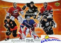 2005/06 UD Hockey Jumbo Rookies Card MINT-Sidney Crosby RC & Alexander Ovechkin+