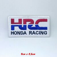 HRC Honda Racing Biker Jacket Iron on Sew on Embroidered Patch#249