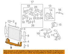 JAGUAR OEM 03-04 S-Type 4.2L-V8 Radiator-Lower Diffuser Deflector Trim XR818923