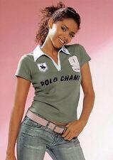 Flashlights 2 Stück Polo NEU Gr.32/34 XS Damen Shirt Khaki